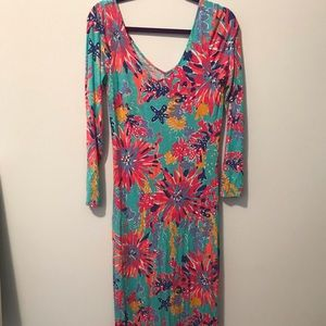 Lilly Maxi Cotton Long sleeve